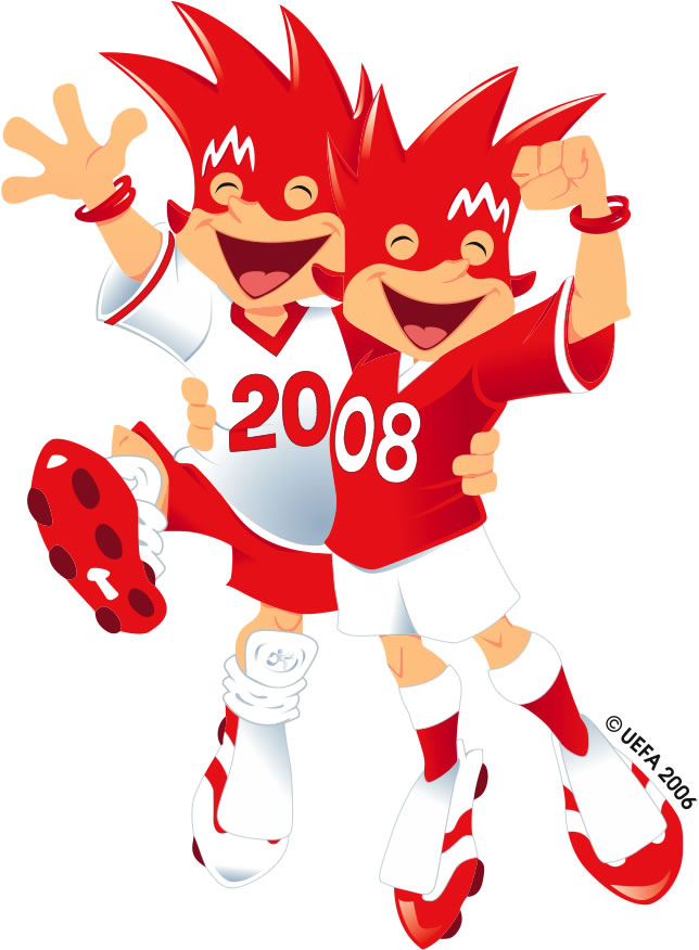 Maskot Euro 2008